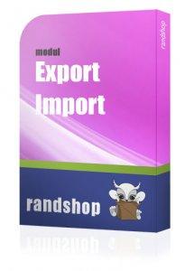 Export / Import Modul ab 1.5.1