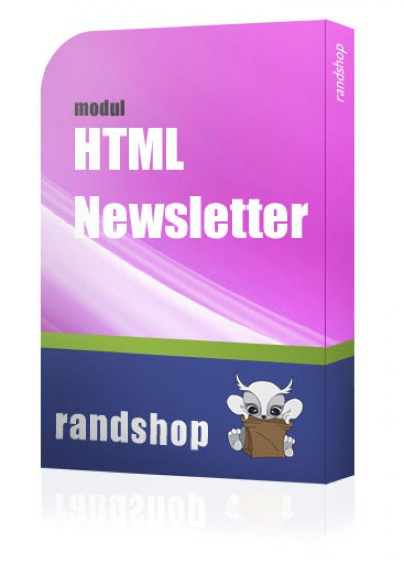 HTML Newsletter Modul